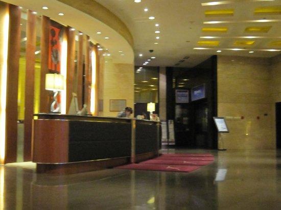 Kempinski Hotel Shenyang: カウンター