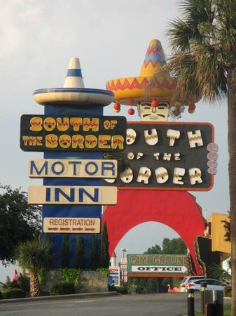 South of the Border: Hotel Entrance