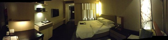 New World Makati Hotel: My Room - Looking from the window