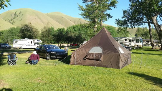 Wagonhammer RV Park & Campground: well maintained, beautiful.