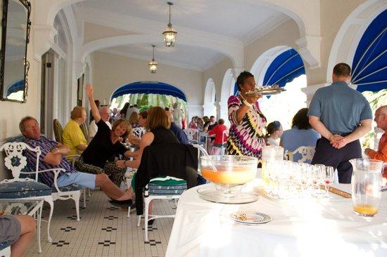 Rosedon Hotel: Rum Swizzle gathering
