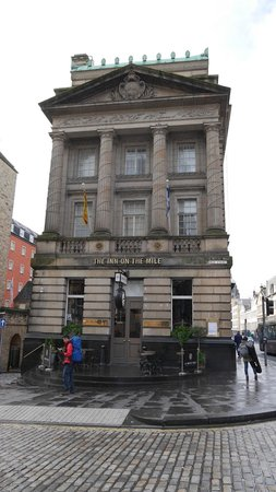 The Inn on the Mile: Renovated from Old Bank