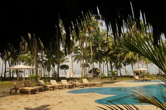 Clandestino Beach Resort: Blick zum Strand