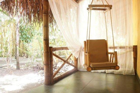 Clandestino Beach Resort: Terasse
