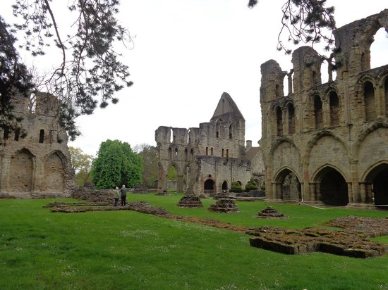Much Wenlock Priory: Overall View