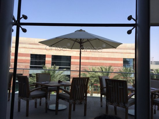 Anise : Outdoor seating