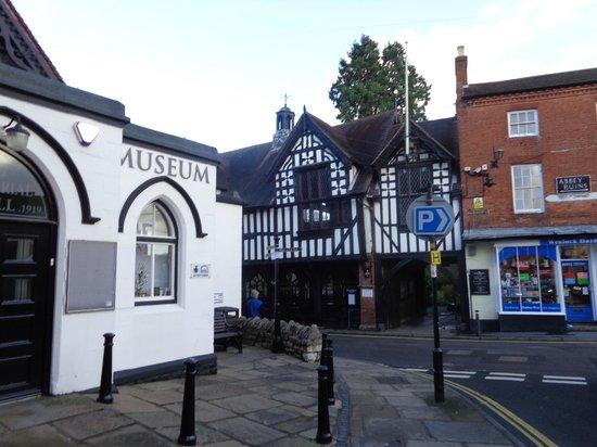 Much Wenlock Priory: Much Wenlock Museum