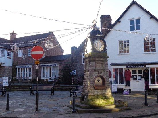 Much Wenlock Priory: Town