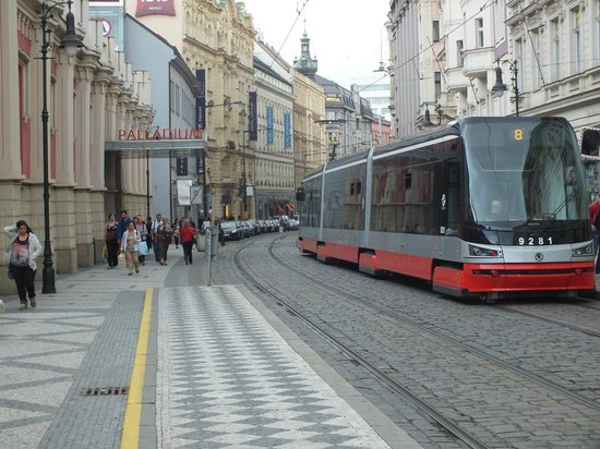 Hotel Century Old Town Prague - MGallery by Sofitel: the street