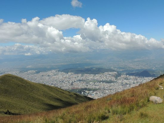 Teleferico Quito : Nice views on a clear day