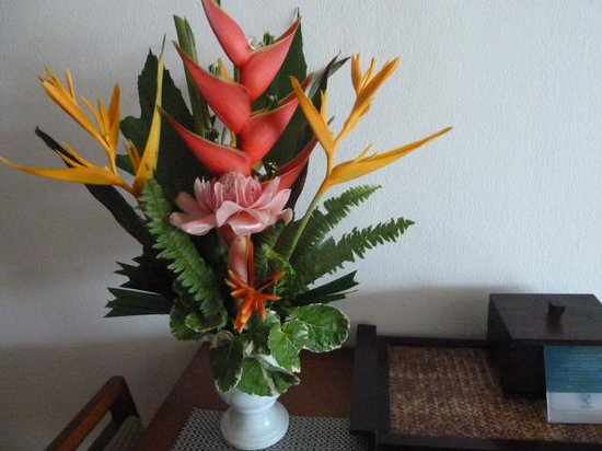 Kantary Bay, Phuket: Our beautiful flowers