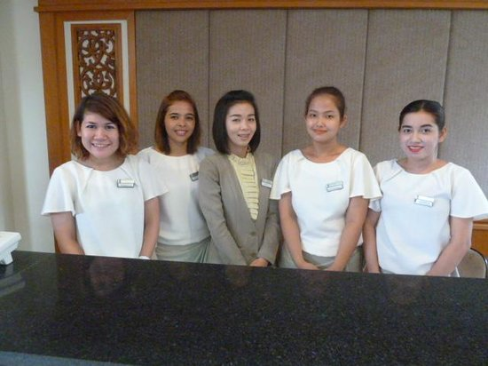 Kantary Bay, Phuket : Lovely friendly smiling staff