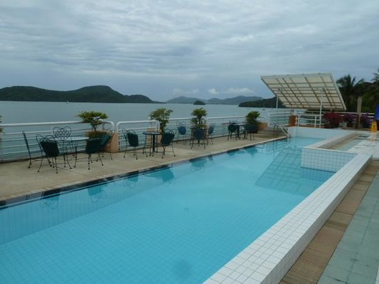 Kantary Bay, Phuket: View from the Bay View wing pool