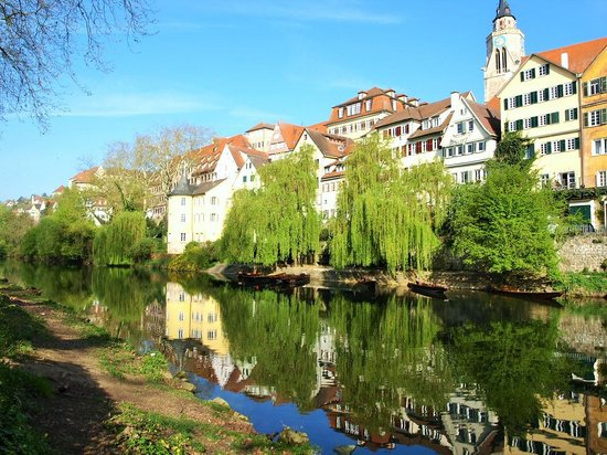Domizil Tübingen: ホテルからの眺め