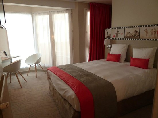 Best Western Les Bains de Perros-Guirec Hotel et Spa : Chambre standard