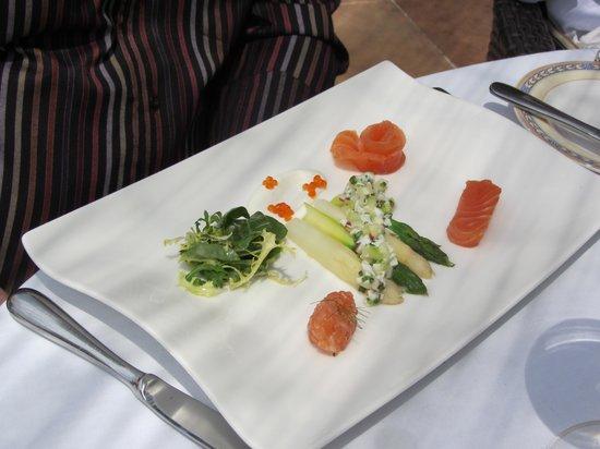 Es Raco d'es Teix : set lunch starter - salmon