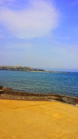 Blue Sea Costa Teguise Beach: One to remember!Amazing:)
