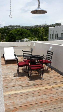 Kimpton Angler's Hotel: Pool Villa - Room 108: Private roof deck