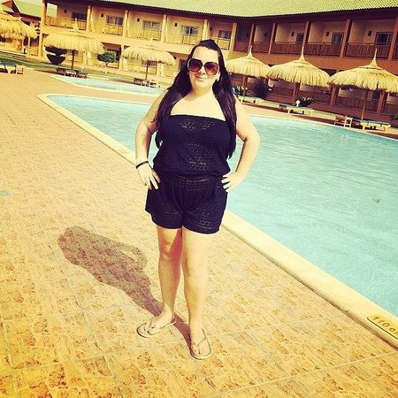 Aqua Blu Sharm: Myself by the new pool
