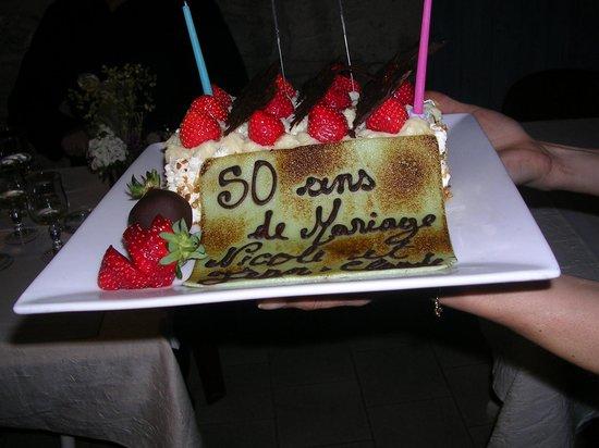L'Olivier de Paiolive : Un super gâteau d'anniversaire