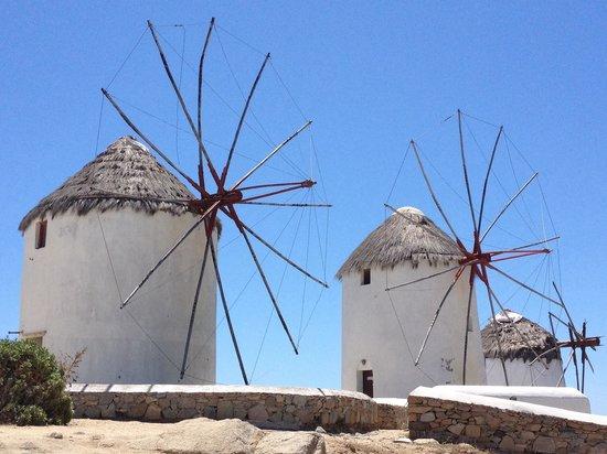The Windmills (Kato Milli): Seaside Windmills