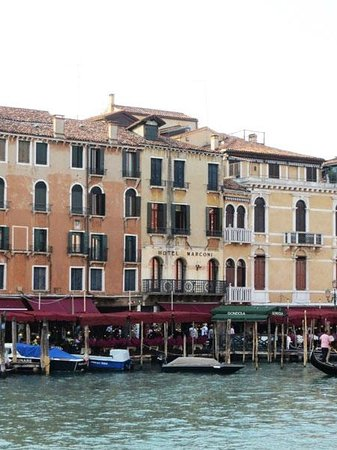 Hotel Marconi on the Grand Canal