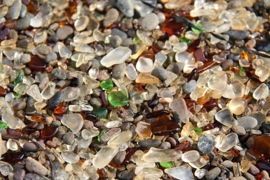Glass Beach : Sea Glass