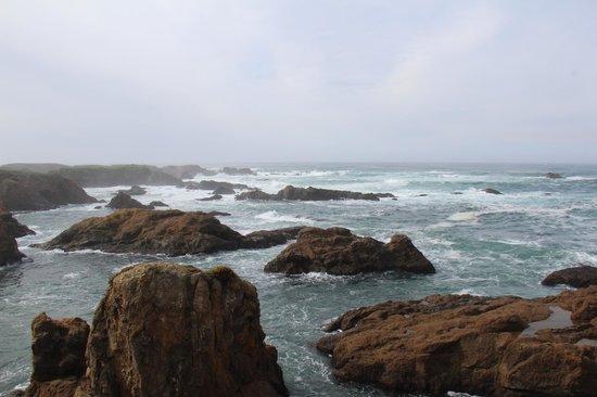 Glass Beach : Great views