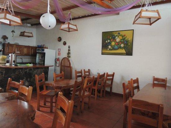 Hotel Espana: Small restaurant open at breakfast