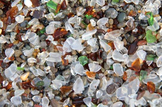 Glass Beach: Beach made of glass