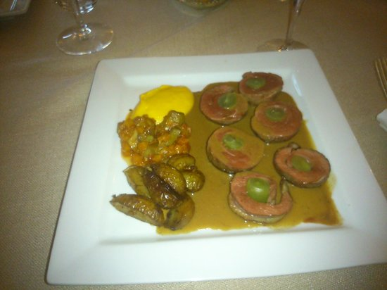 Hotel Restaurant Charbonnel : My 'filet de canard'