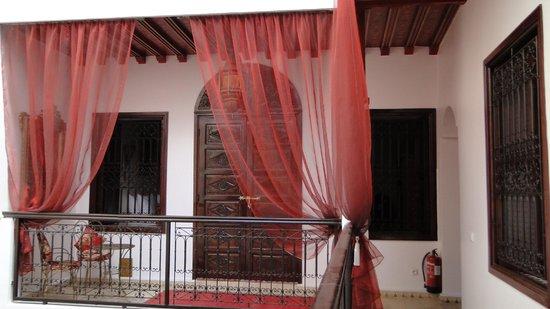 Riad Argan : room