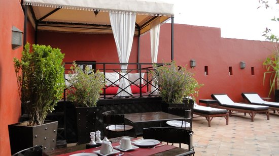 Riad Argan : terrace