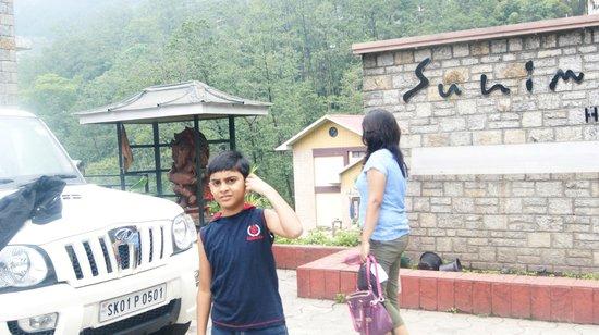 Suhim Portico : Gangtok Trip Pics