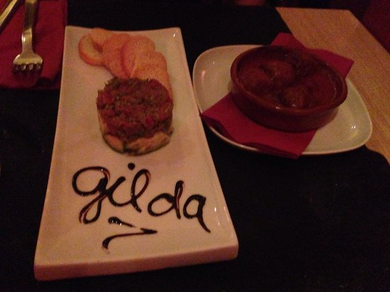 Gilda by Belgious : Steak tartare