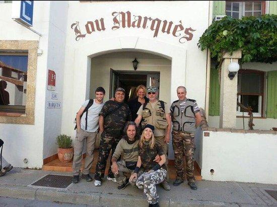 Lou Marques : Foto scattata dalla proprietaria dell'albergo. Signora simpatica e cordiale.
