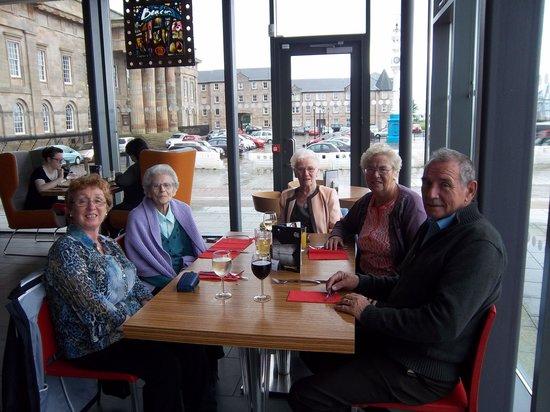 Beacon Arts Centre Bistro & Bar: Family lunch