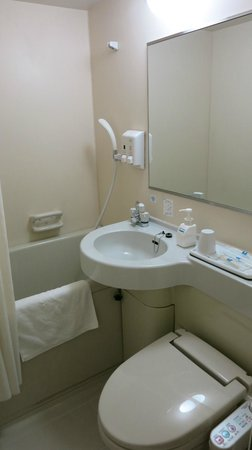 Comfort Hotel Sendai West : バスルーム