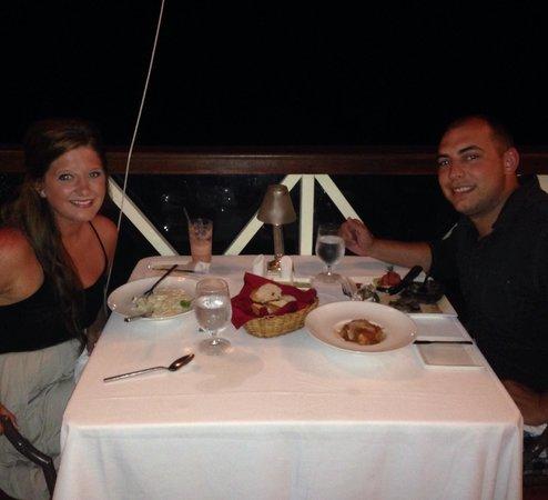 Sandals Montego Bay: Dinner
