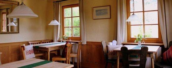 Gasthof Pension Moosbach: Moosbach Stube Restaurant