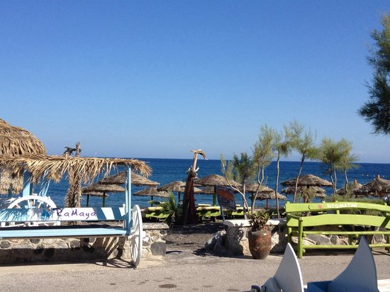 Villa Vergina : Perissa Beach June 2014