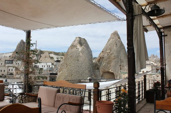 Kelebek Special Cave Hotel: View from the terrace