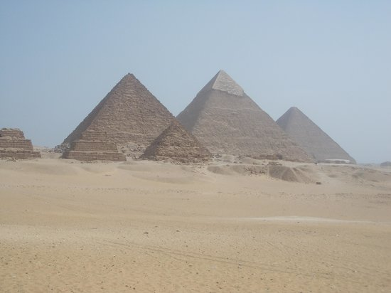 Cairo-Overnight Tours: Giza Pyramids, taken while on a camel!