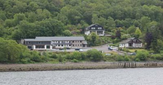 Clan MacDuff Hotel from the loch