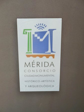 Teatro Romano de Mérida: insegna
