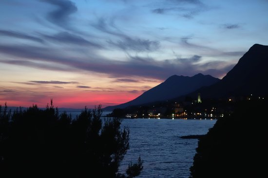 Hotel Saudade: Gradac sunset