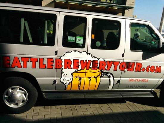 Road Dog Tours : Our tour van.