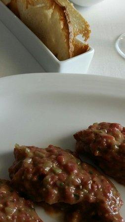 Restaurante El Tres: Steak tartar