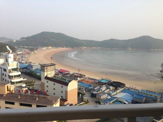 Golden Sky Resort: View from the 6th floor