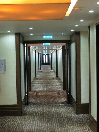 Royal Garden Hotel: Hallway